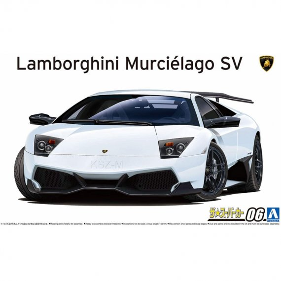 Lamborghini Murcielago SV - Aoshima 05901