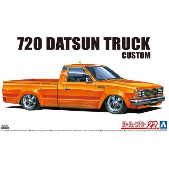 720 Datsun Truck Custom '82 (Nissan) - Aoshima 05840