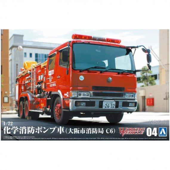 Chemical Fire Pumper Truck - Aoshima 05971