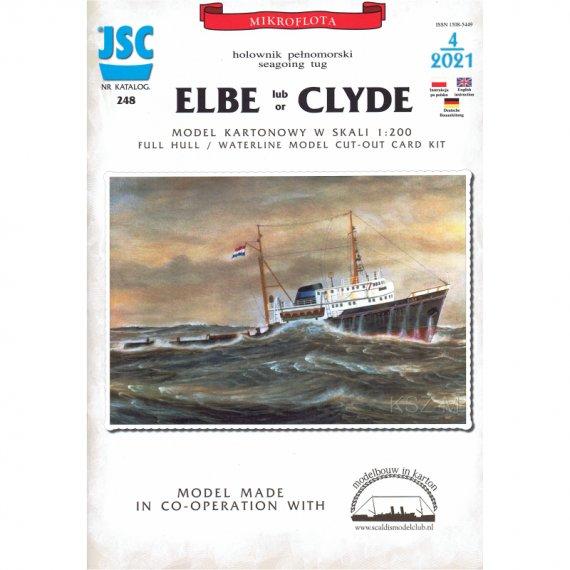 ELBE lub CLYDE holownik pełnomorski - JSC-248